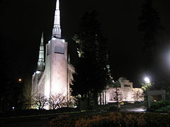 Portland Temple at night.JPG
