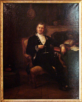 Guy-Victor Duperré - Portrait of Admiral Duperré, 1855, by Claudius Jacquand.