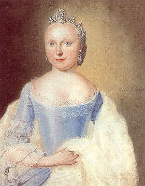 Princess Carolina of Orange-Nassau - Image: Portrait of Carolina van Oranje Nassau, PF de la Croix