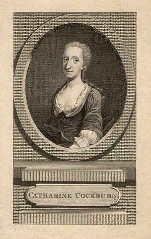 Catharine Trotter Cockburn - Catherine Cockburn