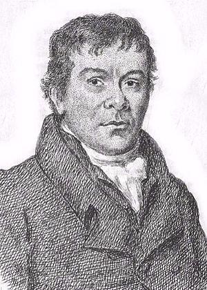 Robert Wedderburn (radical) - Image: Portrait of Robert Wedderburn from The Horrors of Slavery, 1824