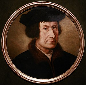English: Portrait of a humanist, attributed to...