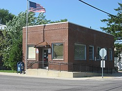 Post office in Lewistown