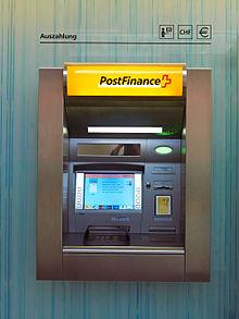 Einzahlung Postbank Automat