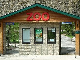 Potawatomi Zoo - Entrance
