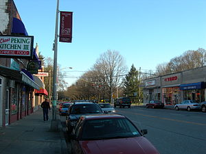 Arlington, New York - Raymond Avenue in Arlington