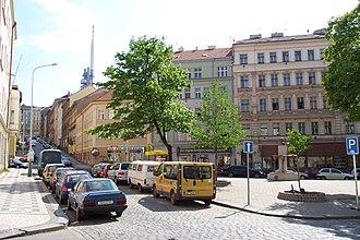 Prague 3 - Prokopovo náměstí (Prokop Square)