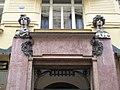 Praha - U Obecního domu - View South on Obecní dům - Secession.jpg
