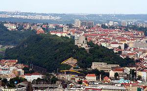 National Monument in Vitkov - Vitkov Hill in Žižkov