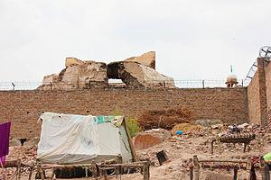 Prahladpuri Temple, Multan - Ruins of Prahladpuri Temple