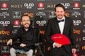 Premios Goya 2018 - Pablo Echenique y Pablo Iglesias.jpg