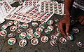 Preparing political party badges - Flickr - Al Jazeera English.jpg