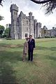 President & Mrs Reagan at Ashford Castle in Ireland 1984.jpg