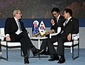 President Lee holding series of summit talks at G-8 forum- with Australian PM Kevin Rudd (4344935061).jpg
