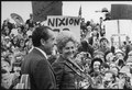 President and Mrs.Nixon arriving at Portland Air National Guard Field, Oregon. - NARA - 194735.tif