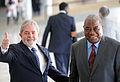 Presidente Lula recebe o presidente da Zâmbia, Rupiah Bwezani Banda.jpg
