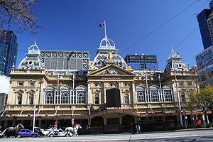 Princess Theatre, Melbourne - Spring Street facade