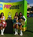 Pro Bowl Cheerleaders and the Pro Bowl Trophy (31713809744).jpg