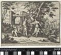 Procris en de vermomde Cephalus Mythologische voorstellingen in landschappen (serietitel), RP-P-OB-103.770.jpg