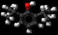 Propofol molecule ball.png