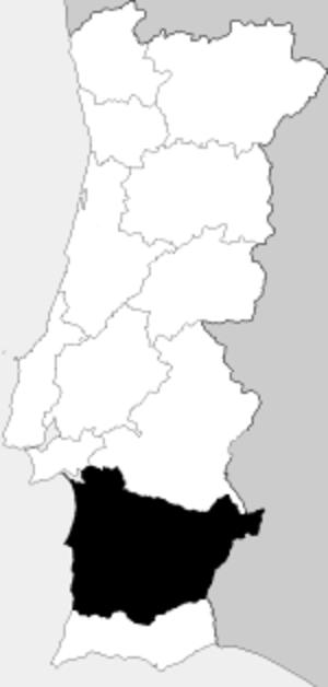 Baixo Alentejo Province - Image: Provincia Baixo Alentejo