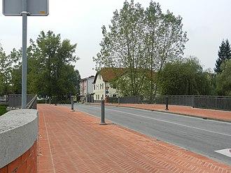 Prule Bridge - The platform of the Prule Bridge