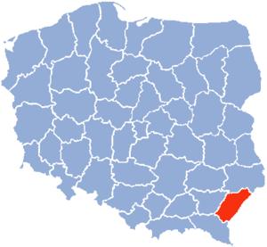 Przemyśl Voivodeship - Przemysl Voivodeship