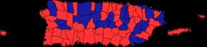 Puerto Rican general election, 2000 - Image: Puerto Rican general election, 2000 map
