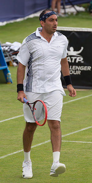 Purav Raja - Purav Raja at the 2015 Aegon Surbiton Trophy tournament in London