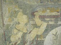 Pure Land of Bhaisajyaguru, detail 4, Yuan Dynasty.JPG