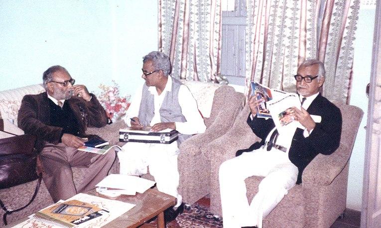 Qasim with abdus salam