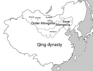 Outer Mongolia Historical region