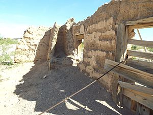 Fort Tyson - Image: Quartzsite Fort Tyson Ruins 1856 4