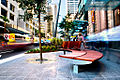 Queen Street seating and shade (6311055722).jpg