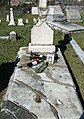 Queen of the Gypsies - grave of gypsy queen Kelly Mitchell in Rose Hill Cemetery, Meridian, Mississippi.jpg