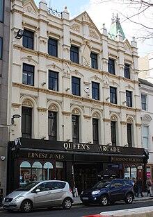 Queen S Arcade Belfast Wikipedia