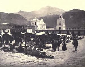 Quetzaltenango Parque Central c.1894
