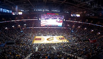 Quicken Loans Arena - A view from inside the arena.
