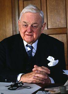 Quintin Hogg, Baron Hailsham, in 1990