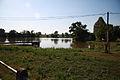 Rácovický pond in Rácovice, Třebíč District.JPG