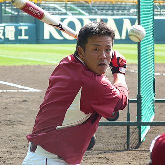 Masato Nakamura (baseball) - Image: RE Masato Nakamura 20110309