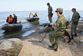 RIAN archive 942201 Border guards of the Federal Security Service pursuing trespassers of the maritime boundary during exercises in Kaliningrad region.jpg