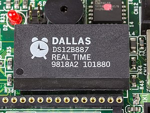Dallas Semiconductor - Real Time Clock DS12B887