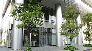 Sanyo Broadcasting - RSK Olive Studio in Takamatsu.