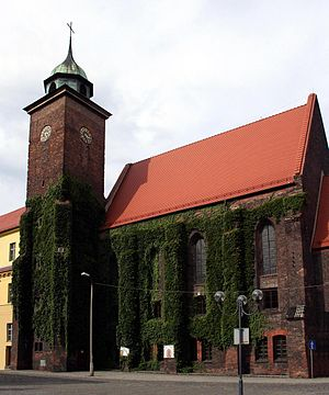 Constance, Duchess of Wodzisław - The Dominican monastery of Racibórz, Constance's probable place of burial
