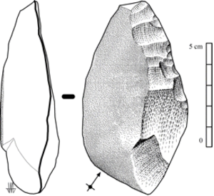 Checua - Lithic scraper tool