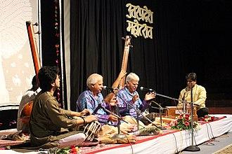 Rajan and Sajan Mishra - Rajan and Sajan Mishra performing at Bharat_Bhavan Bhopal (July 2015)