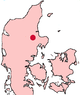 Randers Denmark location map.png