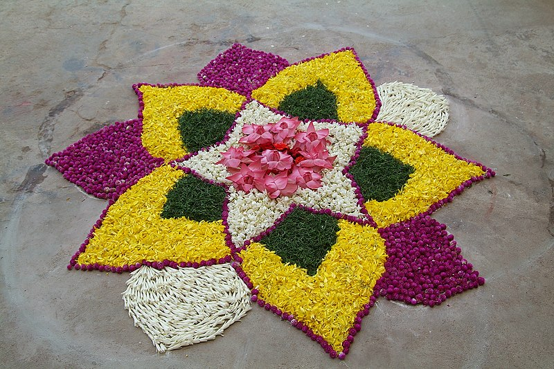 Deepawali Rangoli Designs Flower Patterns Myspace Hi5