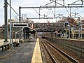 Readville station from Track 2 platform, November 2015.JPG